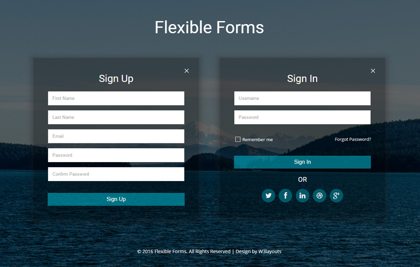 Flexible Forms