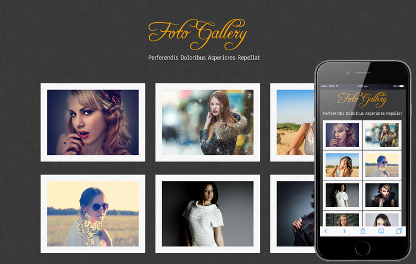 Photo Gallery Templates Templates